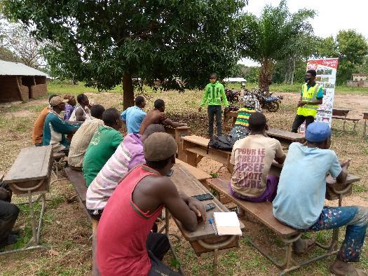 Formation des producteurs soycain
