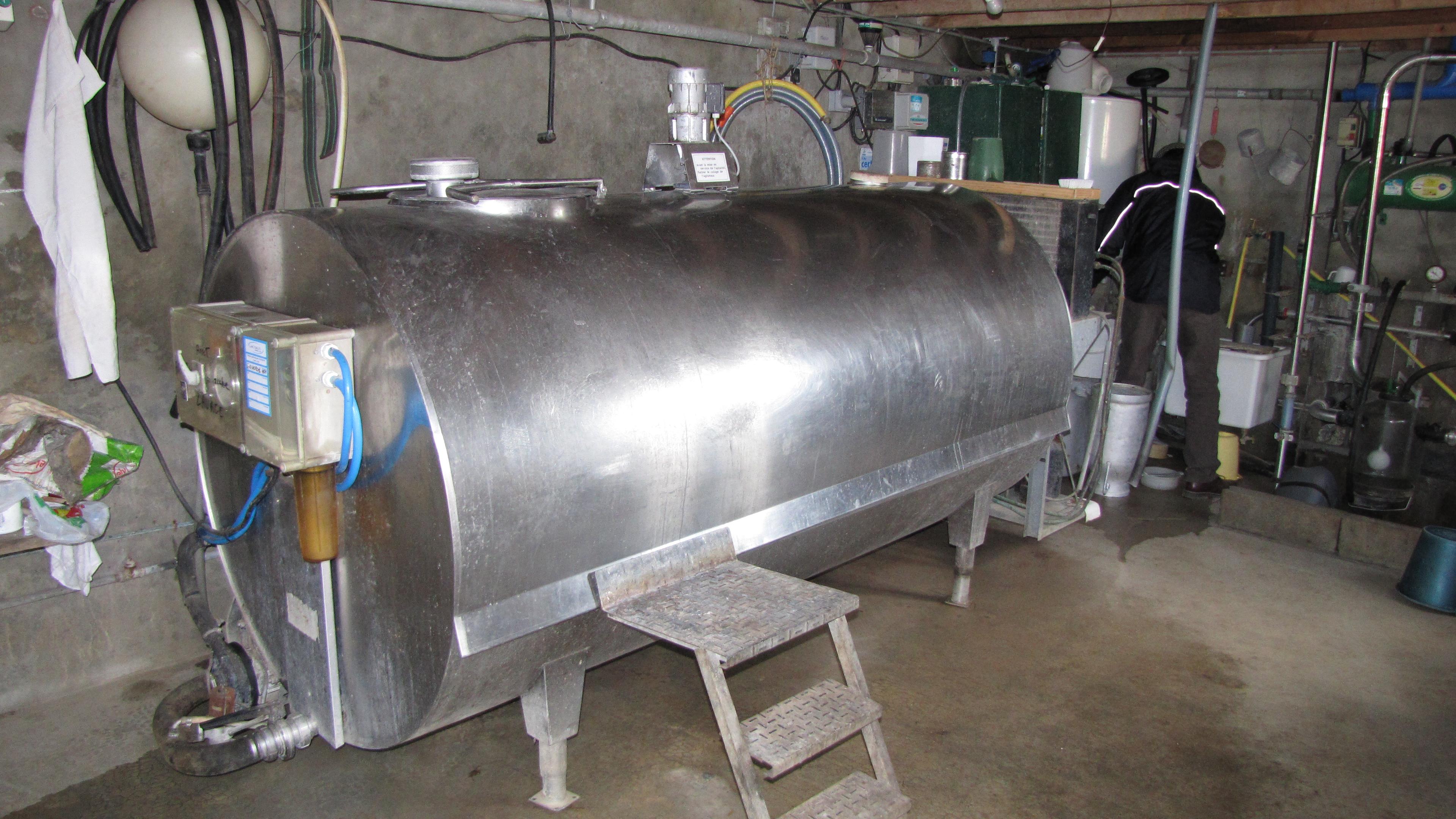 Faut-il louer un tank à la laiterie pour plus de tranquillité?