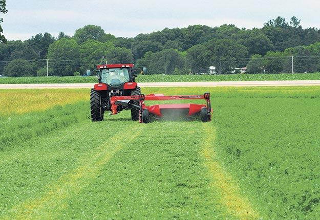 Récolte du foin: La gestion de la dernière coupe