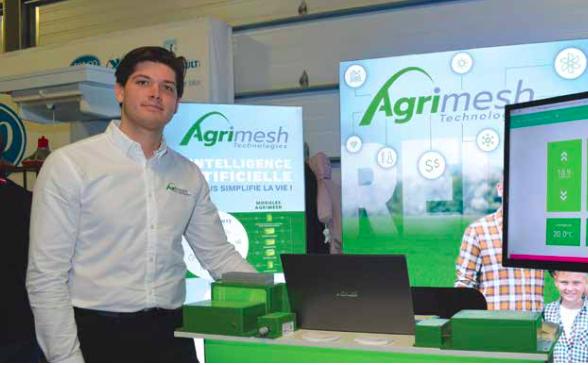Le système Agrimesh, une nouvelle technologie pour les fermes d'élevage