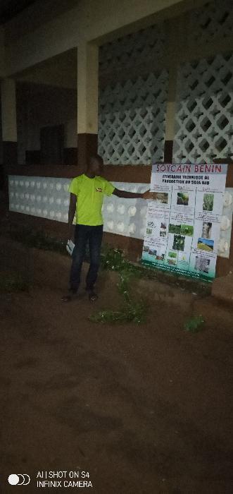 Soycain Benin _ Formation à Hèvi