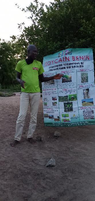 Soycain Benin_Formation aux producteurs de kpakpame