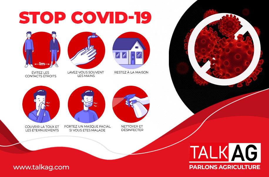 TALKAG explore l'impact de la Covid-19 sur le commerce des produits agricoles