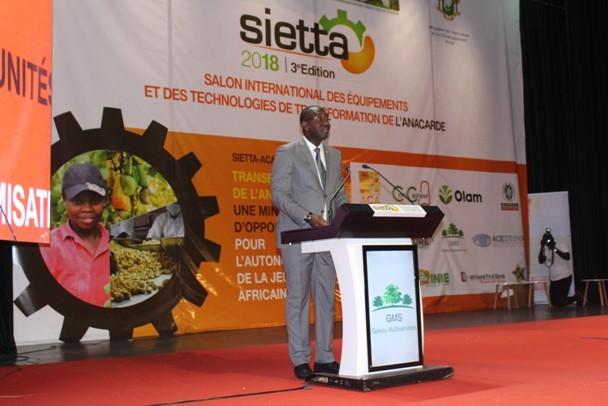 SIETTA (Salon international des équipements et des technologies de transformation de l'anacarde)