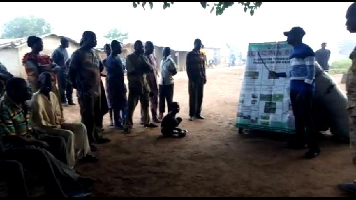 Formation des producteurs du soja biologique