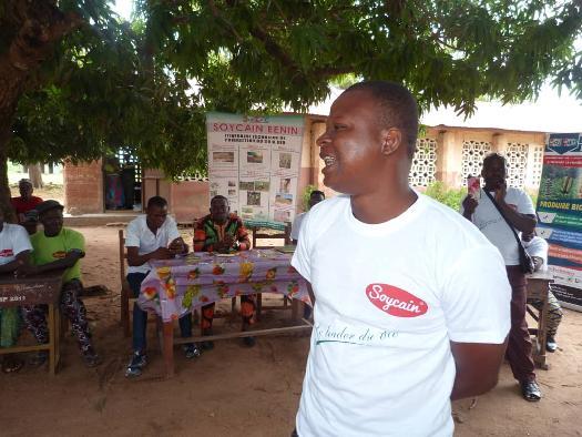 SOYCAIN-CI DASSA: Lancement de la campagne agricole 2020-2021 à Dassa.