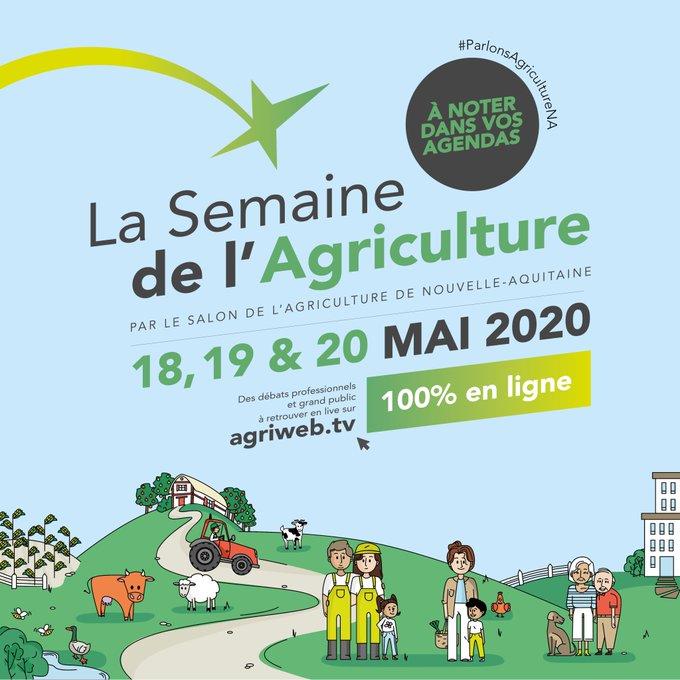 Semaine de l'agriculture Nouvelle-Aquitaine – #ParlonsAgricultureNA
