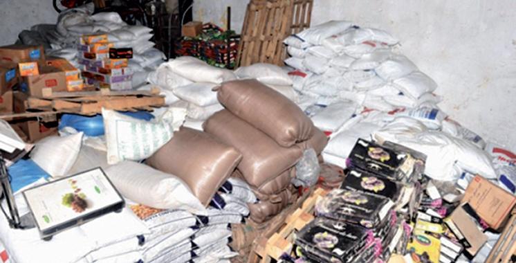 Près de 5.000 tonnes de produits impropres à la consommation détruits par  l'Office National de Sécurité Sanitaire des Produits Alimentaires (ONSSA) Maroc.