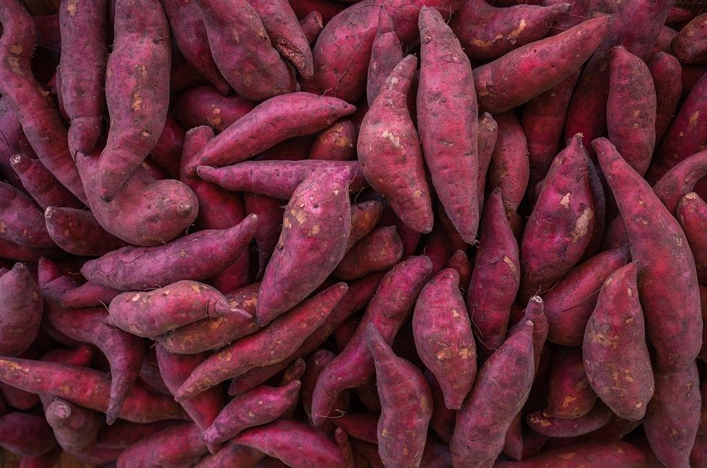 Patates douces - 1000F/panier